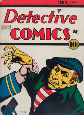 Detective Comics #2 is a very rare pre-hero book. Click for value