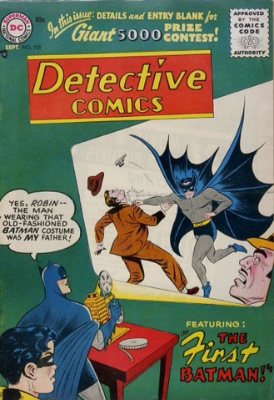 Detective Comics #235 (1956): Origin of Batman's Costume. Click for values
