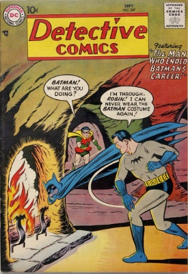 Origin and First Appearance, Doctor Achilles Milo, Detective Comics #247, DC Comics, 1957. Click for value