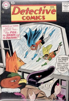 Origin and First Appearance, Shark, Detective Comics #253, DC Comics, 1958. Click for value