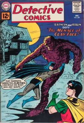 Detective Comics #298 (December 1961): First Appearance of Clay-Face. Click for values