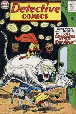 Origin and First Appearance, Catman, Detective Comics #311, DC Comics, 1963. Click for value