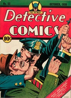 Detective Comics #32: one of the last non-Batman covers