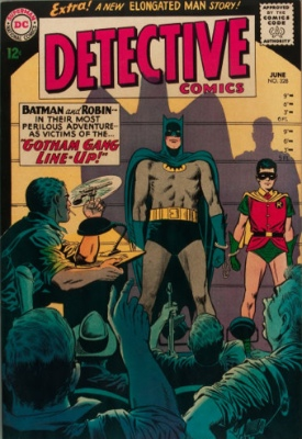 Detective Comics #328 (June 1964): Death of Alfred. Click for values