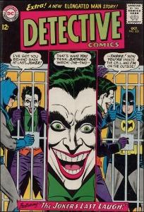 Detective Comics #332, Joker cover story
