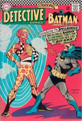 Origin and First Appearance, Spellbinder (Delbert Billings), Detective Comics #358, DC Comics, 1966. Click for value
