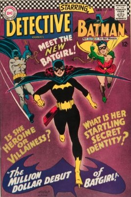 First appearance of Barbara Gordon (Batgirl and Oracle): Detective Comics #359. Click for value