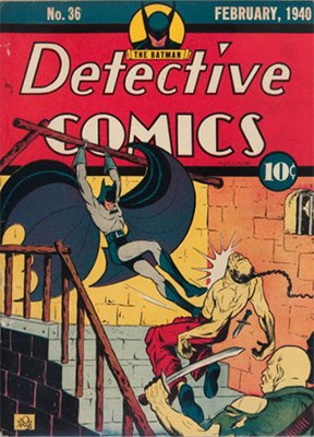 Detective Comics #36 (Feb 1940): First Appearance, Hugo Strange. Click for values