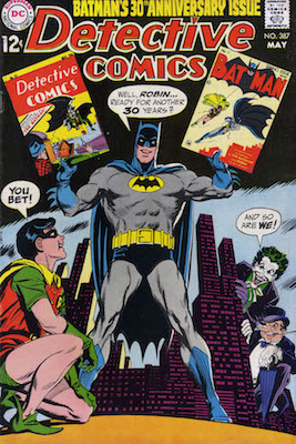 Detective Comics #387, Joker cover, Batman anniversary