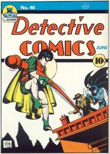 Joker comics: Detective Comics #40 First Joker Comic Book Cover Appearance