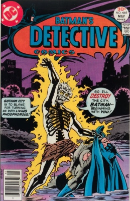 Origin and First Appearance, Doctor Phosphorus, Detective Comics #469, DC Comics, 1977. Click for value