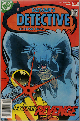 Detective Comics #474: First Modern Appearance of Deadshot. More affordable than the 1950s appearance. Click for values