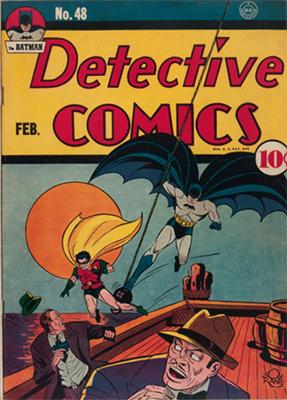 Detective Comics #48. Click for current values