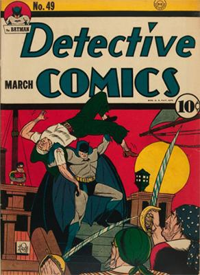 Detective Comics #49. Click for current values