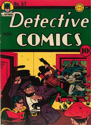 Detective Comics 57. Click for current values.