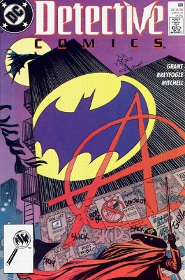 Origin and First Appearance, Anarky, Detective Comics #608, DC Comics, 1989. Click for value