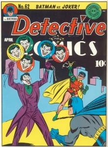 Detective Comics #62, classic Joker cover