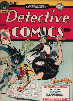 Detective Comics 67. Click for current values.