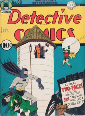 Detective Comics 68. Click for current values.