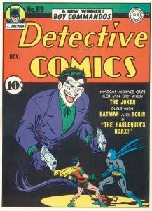 Detective Comics #69, classic Joker cover