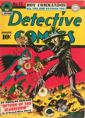 Detective Comics 73. Click for current values.