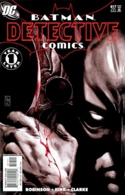 Origin and First Appearance, Tally Man, Detective Comics #817, DC Comics, 2006. Click for value