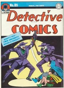 Joker comics: Detective Comics #85, classic Joker cover