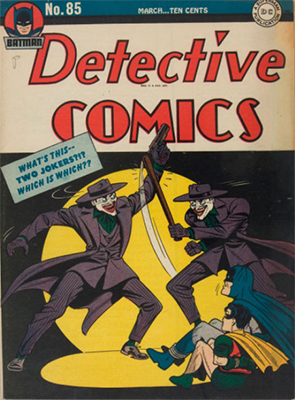 Detective Comics 85. Click for current values.