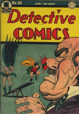 Detective Comics 88. Click for current values.