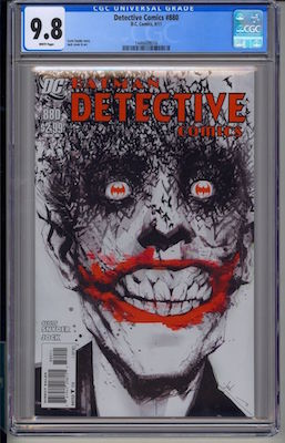 Hot Comics #59: Detective Comics #880, classic Joker cover by Jock. Click to buy a copy