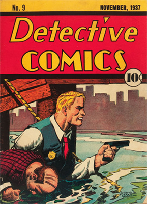 Rare comic book: Detective Comics #9
