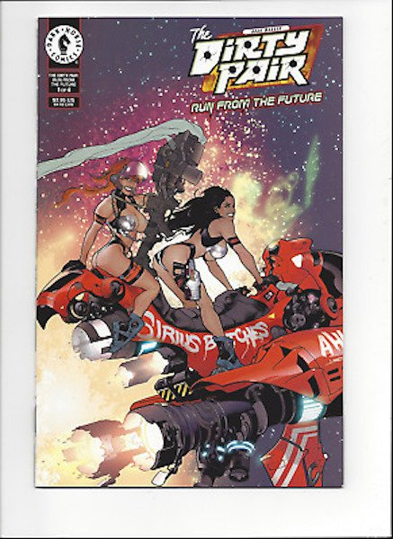 #93: Dirty Pair: Run From the Future 1 Hughes Variant (2000). Click for values