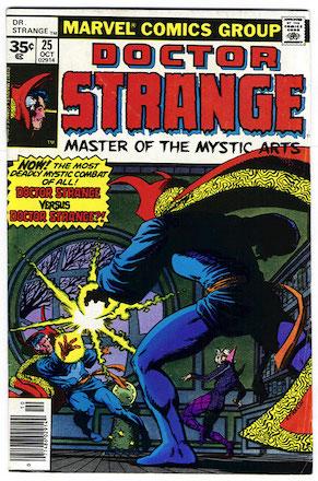 Doctor Strange #25 35 Cent Price Variant