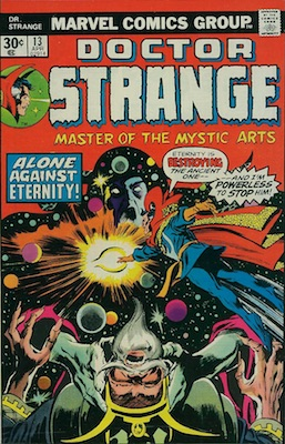 Doctor Strange #13 30 Cent Variant April, 1976. Regular Price Box