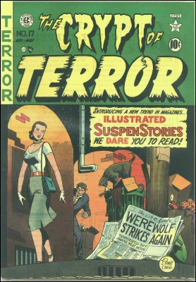 Crypt of Terror #17 by EC Comics. Click for market values