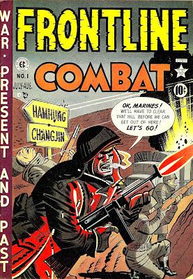 Frontline Combat #1 from EC Comics. Click for values