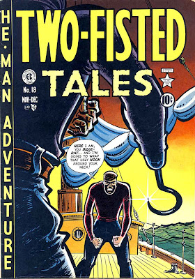 Two-Fisted Tales #18 by EC Comics. Click for value