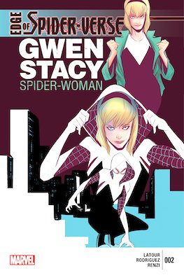 Edge of Spider-Verse #2 (2014): Gwen Stacy Becomes Spider-Woman, Regular edition. Click for values
