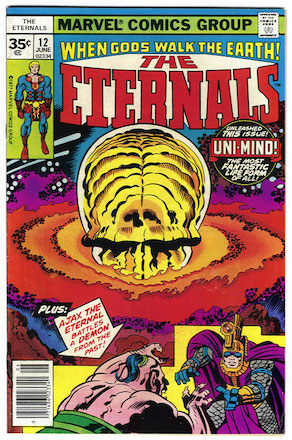 Eternals #12 Marvel Price Variant 35c Edition