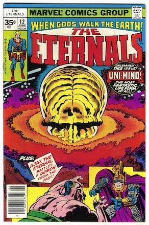 Eternals #12 Marvel Price Variant 35c Edition