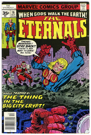 Eternals #16 Marvel 35c Price Variant