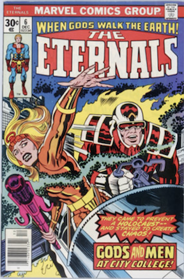 The Eternals #6. Click for values