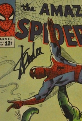 100 Hot Comics #59: Anything With a Stan Lee Autograph! Click to find one