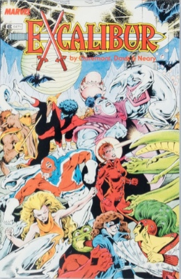 Origin and First Appearance, Excalibur, Excalibur Special Edition (The Sword is Drawn), Marvel Comics, 1987. Click for value