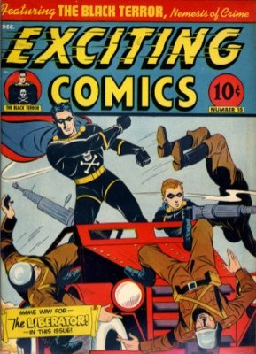 Exciting Comics #15: Origin and First Appearance, Liberator. Click to find out its current market value
