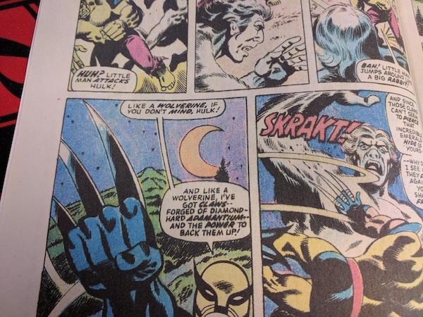 Fake copy of Incredible Hulk 181: The interior colors are wrong, less deep and 'real feeling' than the originals