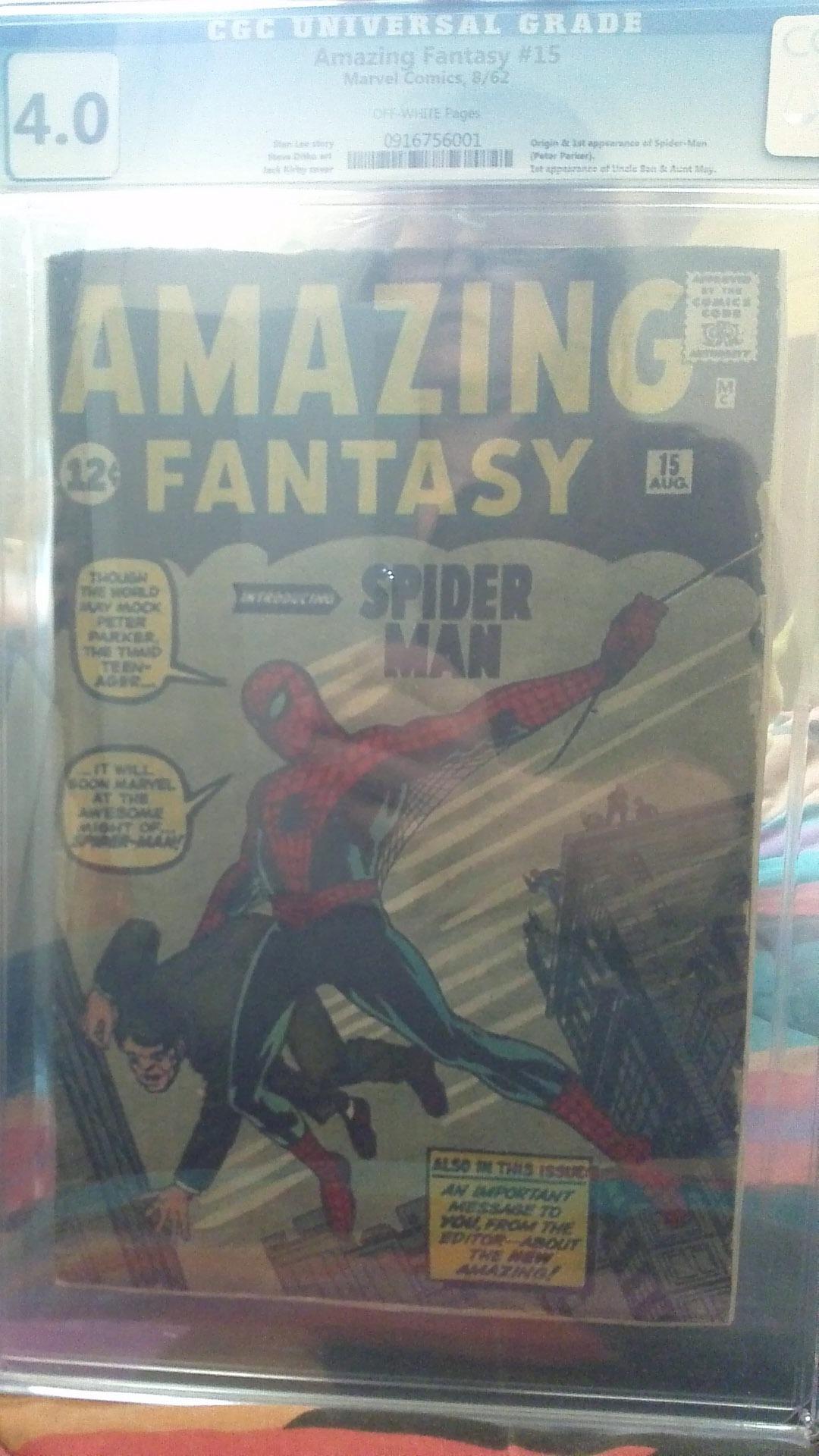 Comic Book Cash #24 Beware of Fake Amazing Fantasy #15