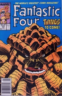 Sharon Ventura (Becomes She-Thing, Fantastic Four #310, January 1988). Click for value