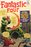 Fantastic Four #1 Golden Record Reprint  Record Sale: $1,000  Minimum Value: $20
