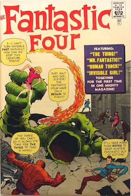 3668bc1c995 Fantastic Four Comic Books Price Guide